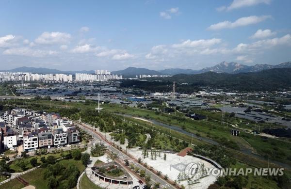 3기 신도시 고양 창릉지구의 현재 모습 [출처=연합뉴스]