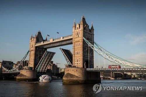 타워브리지 전경. 멀리 런던타워가 보인다. [사진=연합뉴스]